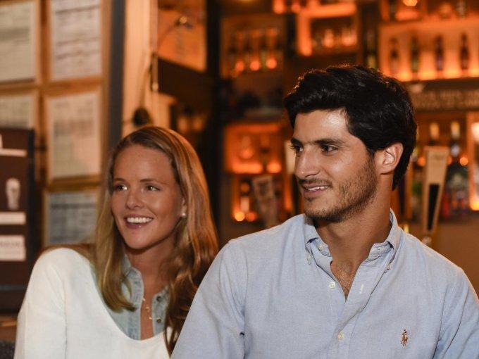Andrea Gadsden y Juan Pablo Asencio