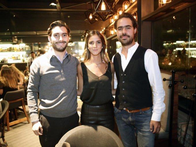 Rodrigo de la Concha, Paulina Goñi y Fernando Páramo