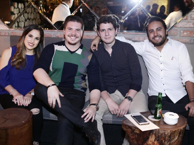 Diana Vargas, Tomás Corcoba, Andrés Lebrija y Carlos Vega