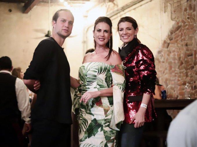 Johann Mergenthaler, Rosy Fuentes de Ordaz y Sara Galindo