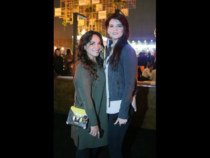 Eva Vale y Lucila García Lourdes