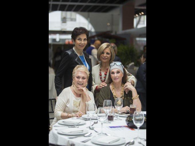 Abigail Rivera Torres, Antonieta Sierra, Stella de Piotti y Marisela Torruco