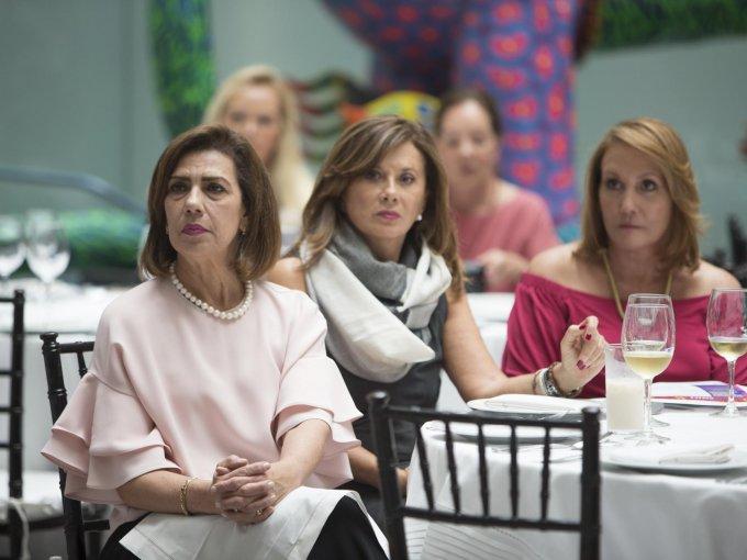 Herminia Colunga, Raquel Fernández y Ruth Padilla