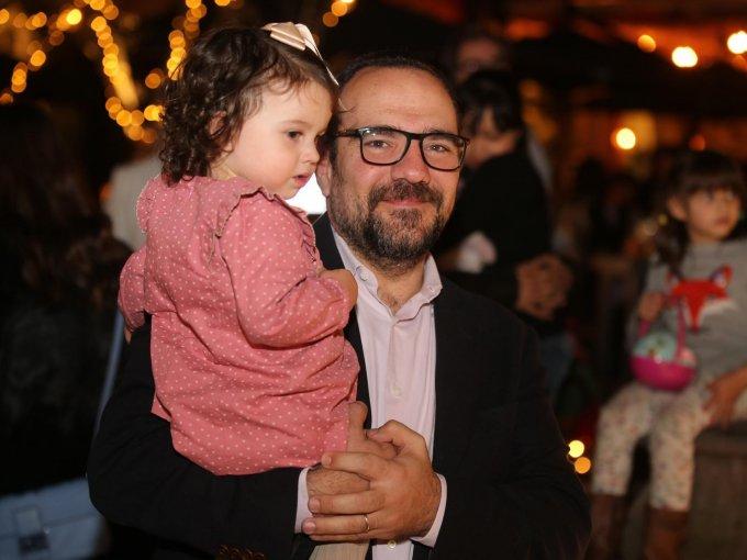 Sofía Reyli y Fernando Mansur