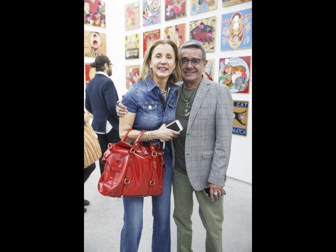 Adriana Gutiérrez y Charlie Cordero