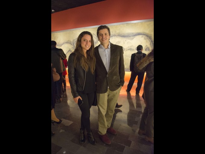 Paulina Torres con Julien Faya