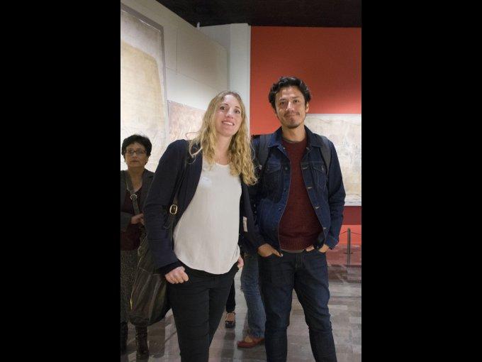 Jeruna Tiemann y Leonardo Rivas