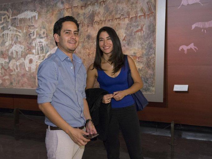 Ricardo Villalobos con Magdalena Eboli