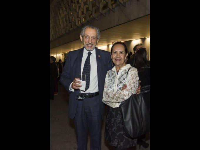José Muñoz Bonilla y Marisa Gómez