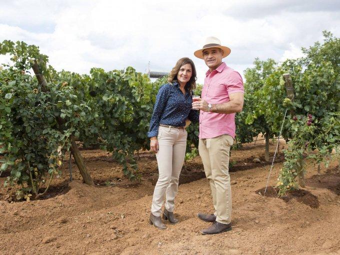 Mary Guerrero y Carlos Torres