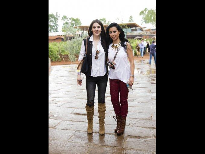 Gabriela Ruanova y Daniela Reyes López