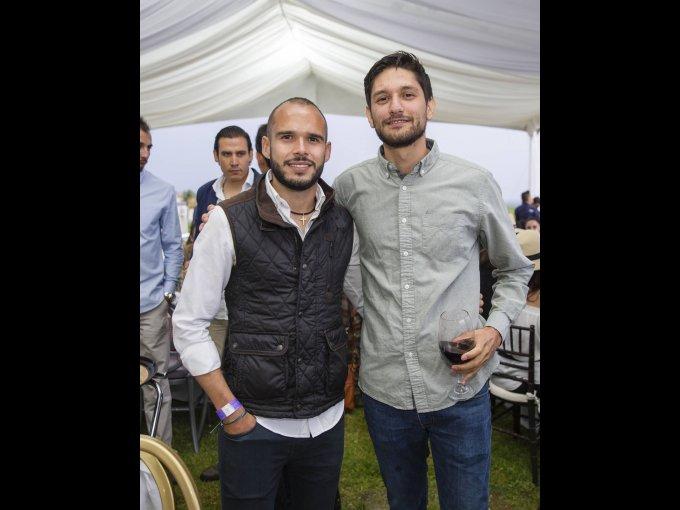 Eduardo López y Karim Bujdud