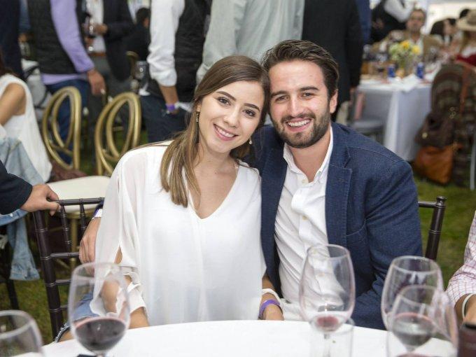 Carolina Aguilera e Ignacio Estrada