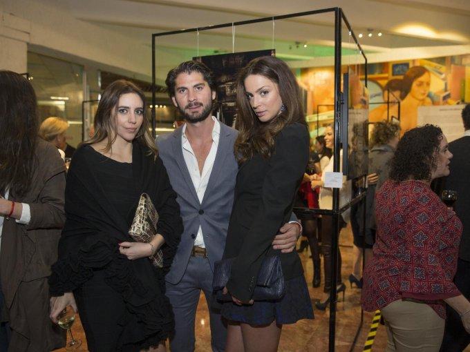 Micaela Schwartz, Héctor García y Ornella Ortile