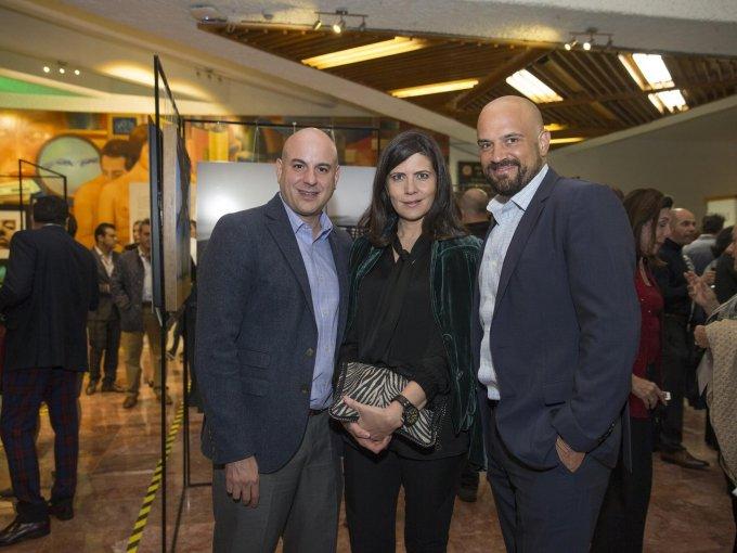 Horacio Magaña, Karin Oechler y Manuel Rivera