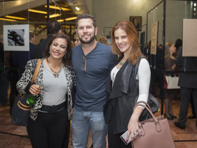 Elena Zetina, Tony Gebara y Pamela Jean