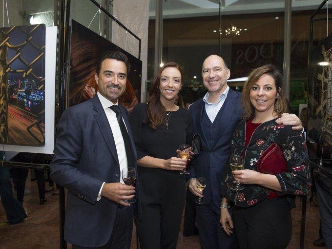 Patrick y Deny Devlyn con Carlos Buentello y Katy de Pavia