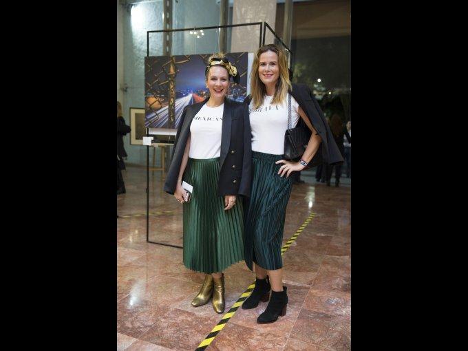 Zarina Rivera y Vivian Hasselman