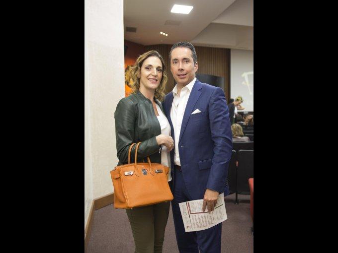 Eugenia Reyes Retana e Iván Vergara