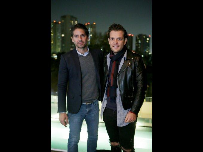 Abelardo Marcondes y Mauricio Rivera Kirschner