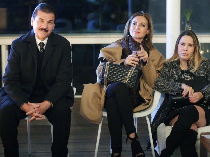 Gerardo Chávez, Jamehel Chávez y Elsa Aznar