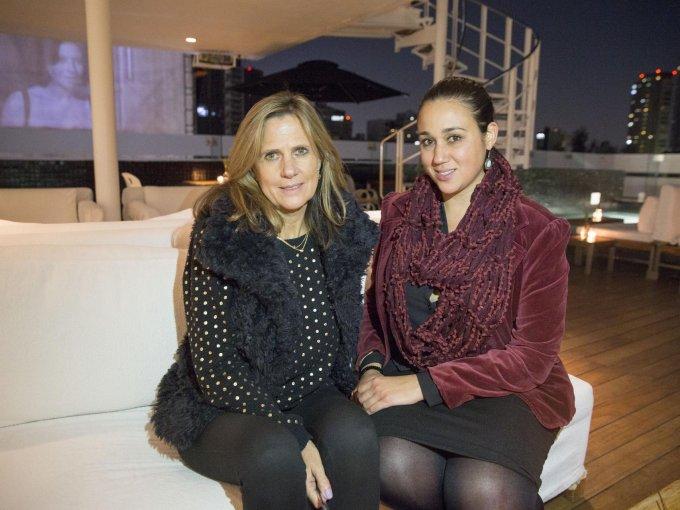 Patricia Solórzano y Elisa González