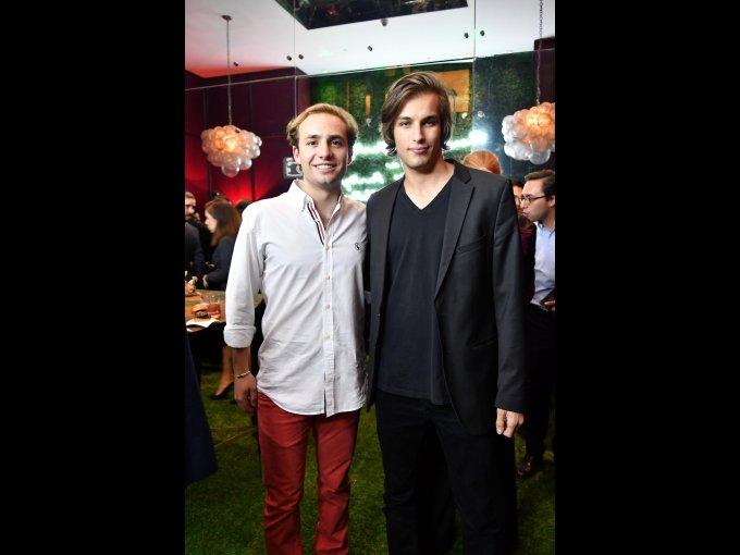 Sebastián Williamson y Lucas Lorentz