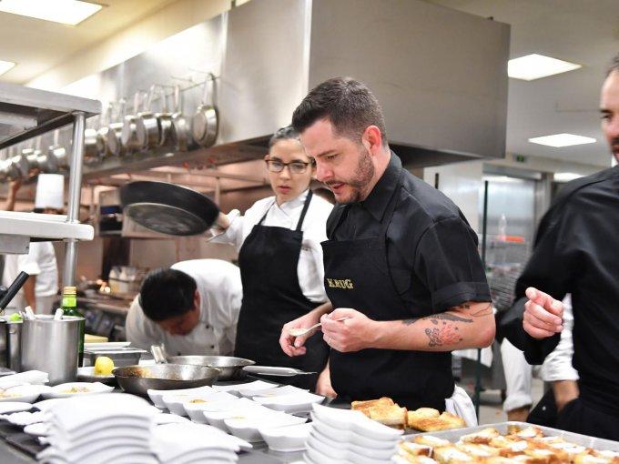 Los chefs Olivier Deboise y Óscar Portal deleitaron a los invitados