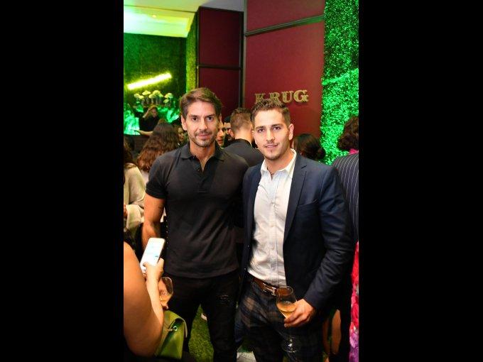 Abelardo Marcondes y Esteban Abascal