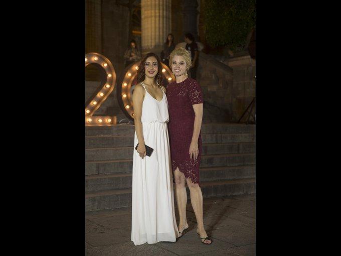Ximena Salazar e Ingrid Weir