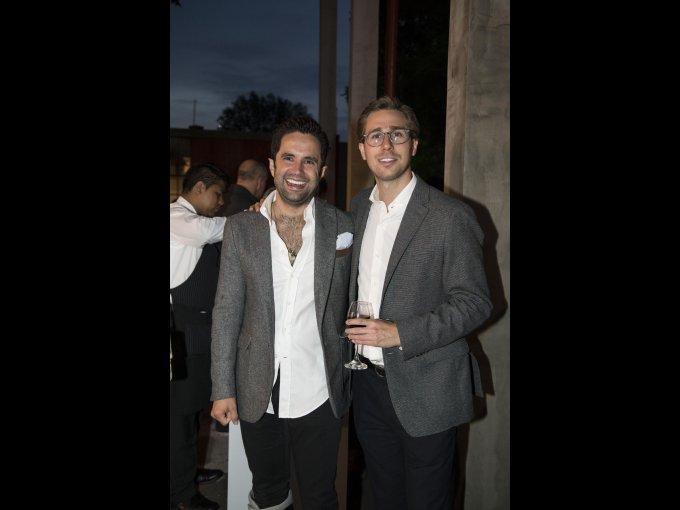 Pablo Legaspi y Jerónimo Rodríguez
