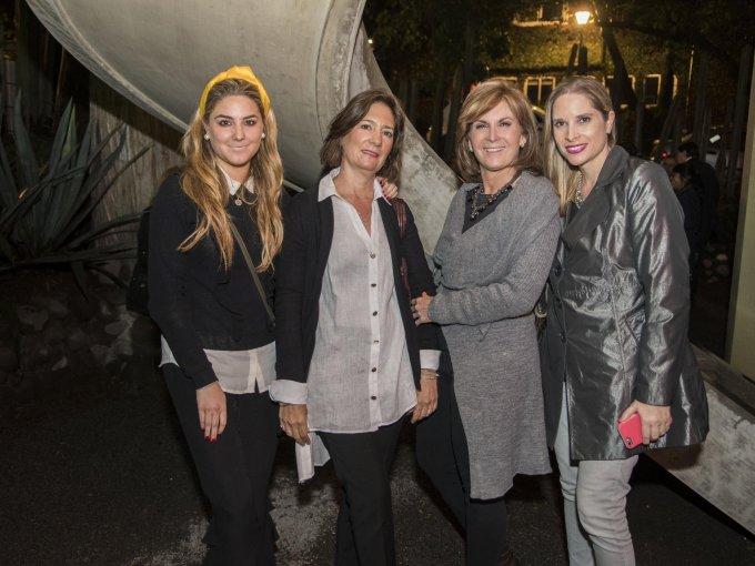 Paulina de Rosenzweig, Paulina Ricaud, Begoña García Bilbatua y Marianne Berthelot