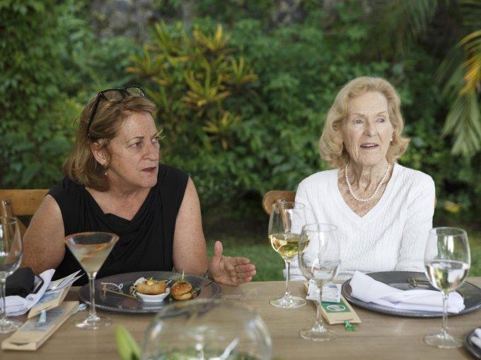 Mary Lynn Patton y Celia Witmond