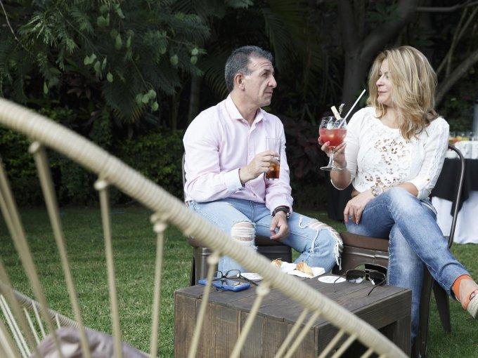 Miguel Lorenzana y Estefania Alfaro