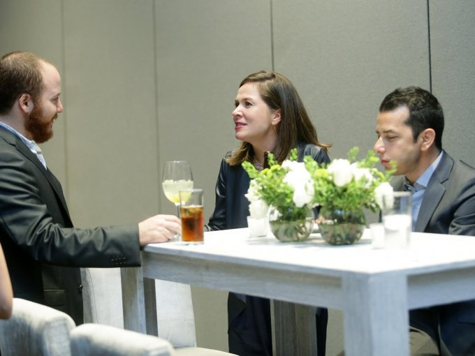 David Dana y Rocío Mejía