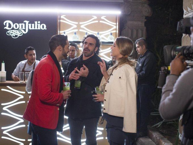 Carlos Girón, Pepe Díaz y Chantal Trujillo