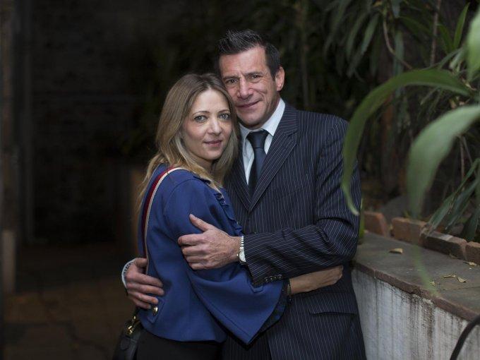 Liora Laiter y Samuel Tacher