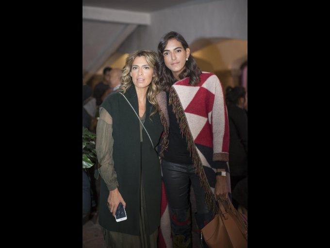 Karla Ortega y Adma Kawage