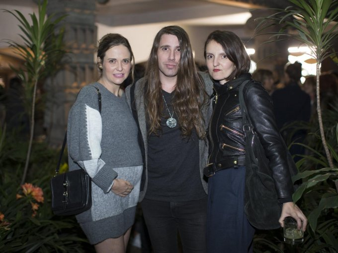 Natalia Ferriz, Nico Leau y Ana Lorenzana