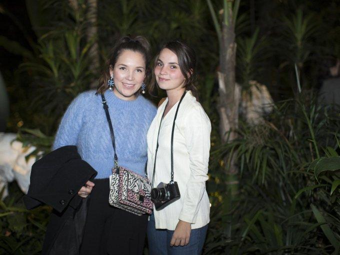 Olivia Meza y Denisse Hurrie