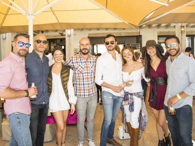Jos Vázquez, Rafael Rodríguez, Regina Sotres, Francisco Malincuri, Rafael Serrano, Ana Paula Astorga, Fernanda Bulle y Jorge Vázquez