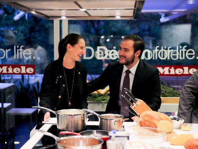 Alejandra Vallejo y Rodrigo Torres