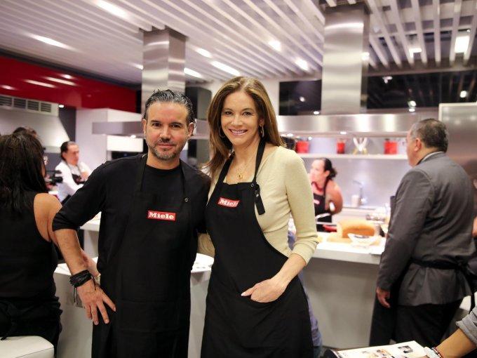 Kalemo Calderón y Jessica Fallon