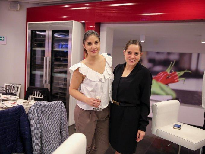 Ángela Florenciano y Nelly Robinson