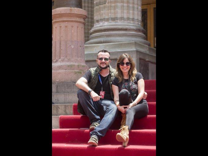 Fernando Corona y Yolanda Potts