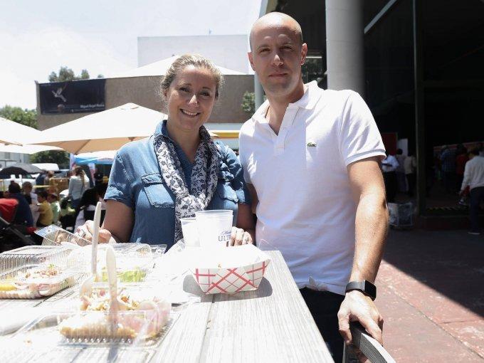 Maritere Septién y Adrián Gay