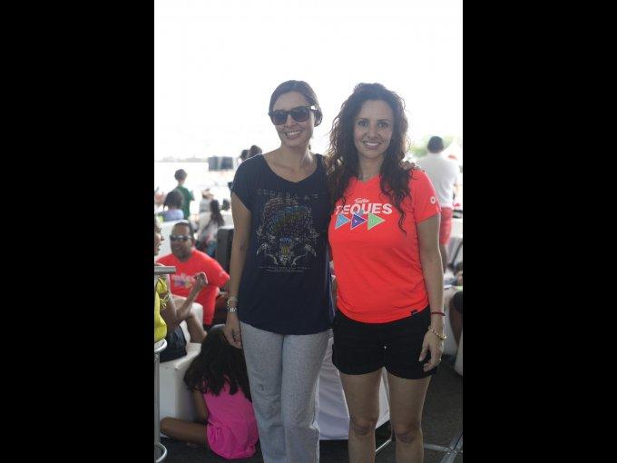 Mónica Reyes y Natalia Carrazco