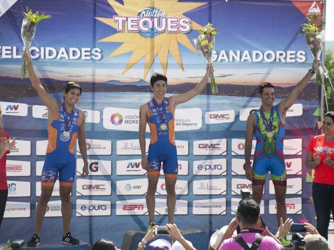 Edson Gómez Ruiz, Diego López Acosta y Arturo Garza Heiras