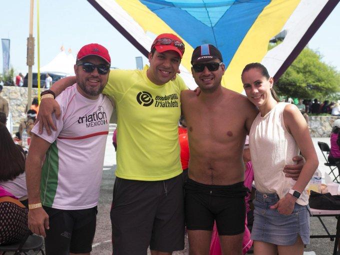 Diego Díaz de Cosío, Eduardo Serra, René Hainze y Cecilia Videgaray