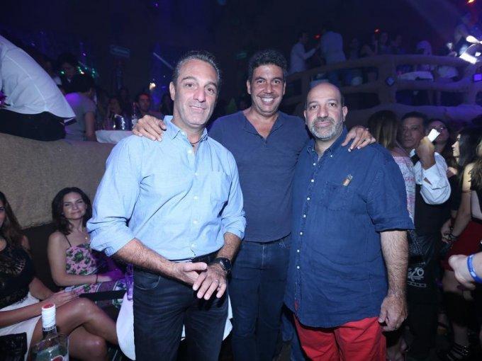 Carlos Slim Domit, Arturo Elías Ayub y Patricio Slim Domit